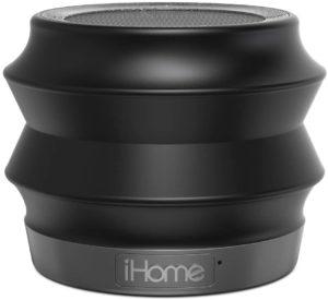 iHome Bluetooth Speaker with SPEAKERPH, Black