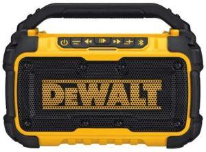 bluetooth speaker from Dewalt