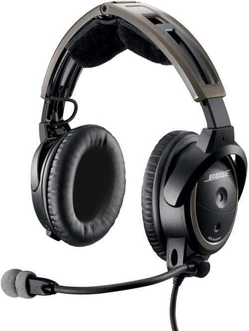 Bose A20 Aviation Headset with Standard Dual Plug Cable