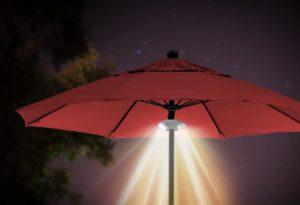 Umbrella Light and Bluetooth Stereo Speaker