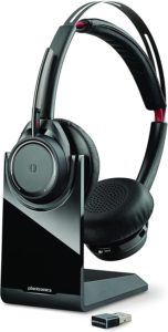 Bluetooth Dual-Ear Headset with Boom Mic