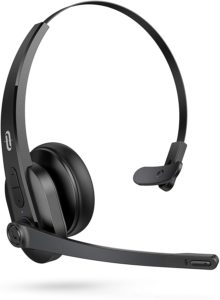 TaoTronics Trucker Bluetooth Headset with Microphone