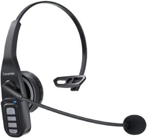 Trucker Bluetooth Headset 5.0 with Microphone Noise Cancelling