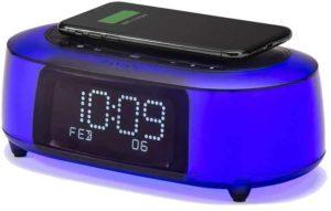 iHome iBTW281 Alarm Clock Radio Wake To Light Bluetooth Speaker