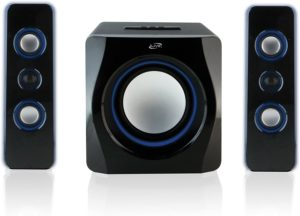 iLive Bluetooth Speaker System with Built-In Subwoofer