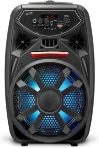 iLive Wireless Tailgate Party Speaker, LED Light Effects